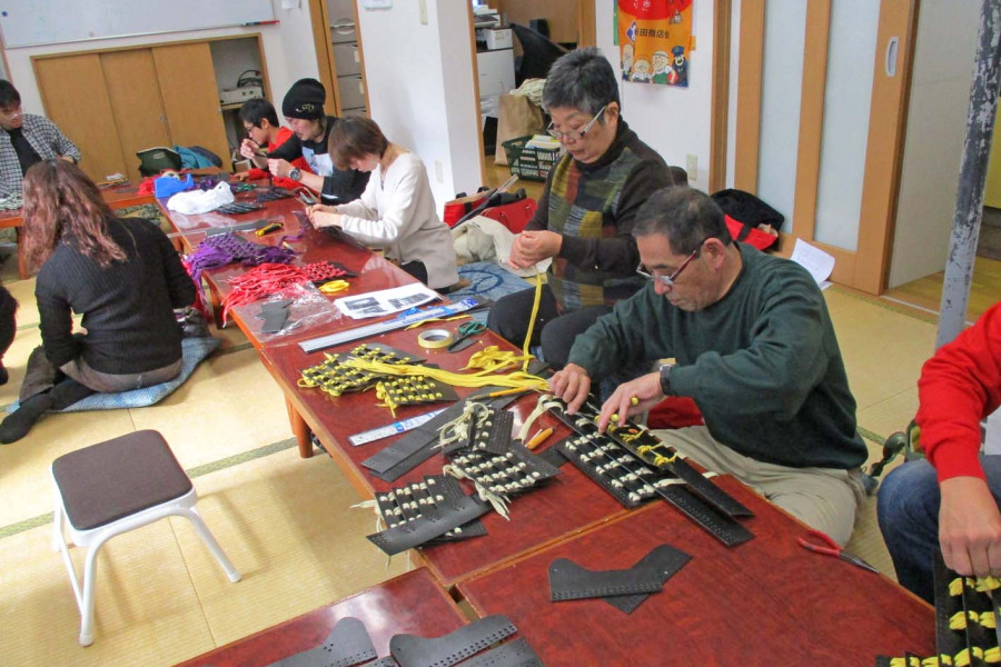 Experience an armor-making class and join the Samurai Parade in your original  Japanese armor!