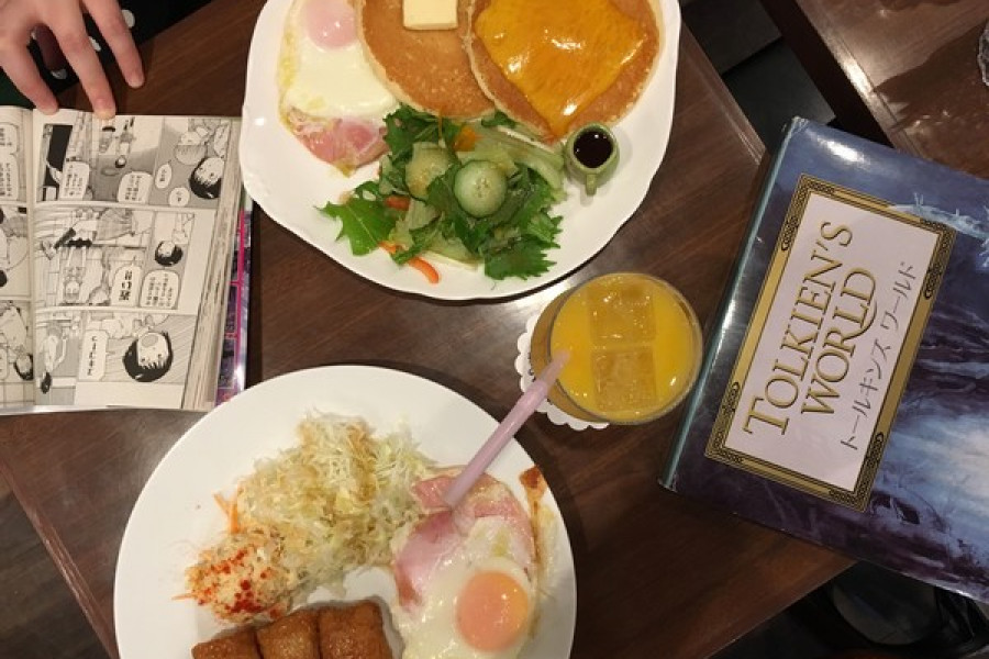 Book Café Utsuki: Haneda Pudding